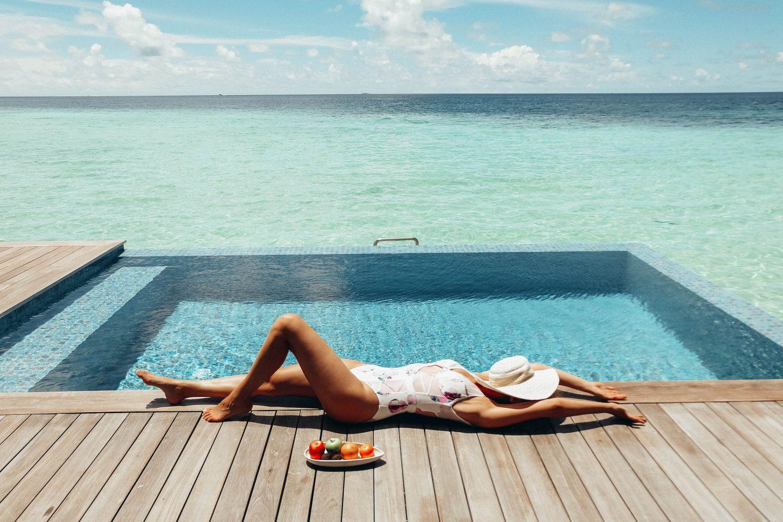 Paradies auf Erden in The Residence Maldives